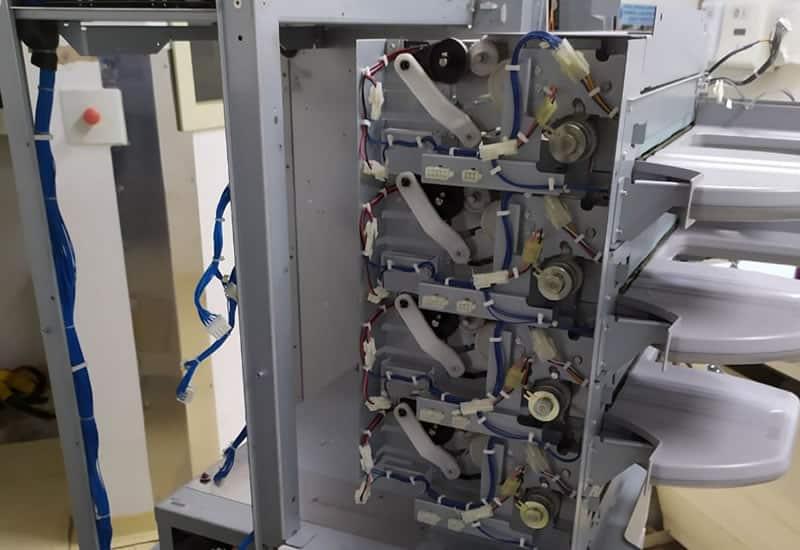 Manutenção Corretiva - Leitora: CR - IR 363 RU FCR PROFECT CS XMedical