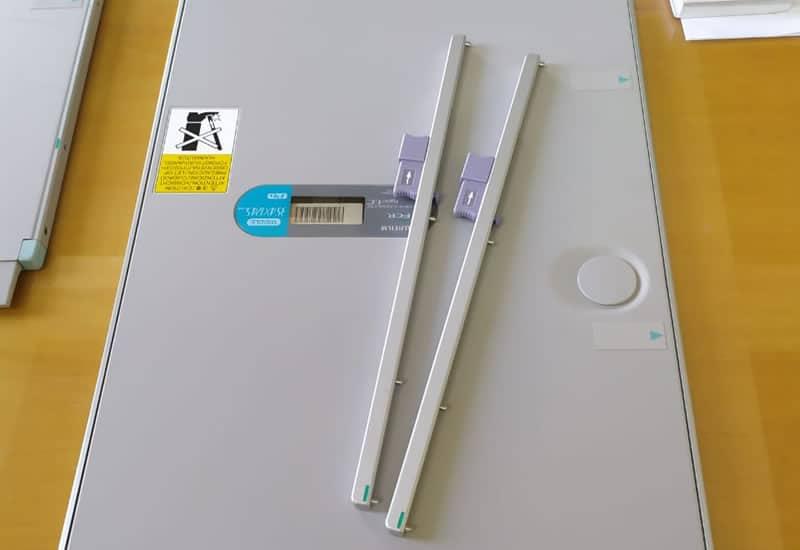 Manutenção corretiva - Cassete Long Views para exame coluna total